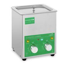 Ultraschallreiniger Ultraschallreinigungsgerät Edelstahl Timer 60 W Eco 2 L