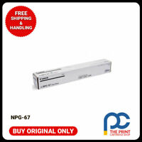 New & Original Canon NPG-67 Black Toner Cartridge iR ADV C3320 C3325 C3330