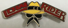 Low Rider Man logo - Hot Rod -- lapel / hat pin badge.   H020205    --Lowrider