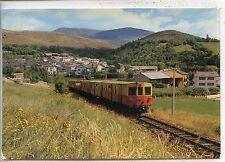 CP Train - Train Auto-couchettes - Ur (66) - Arrivée du petit train jaune