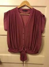 Atmosphere Blouse Size 8 Rose