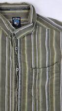 KUHL Mens Casual Lightweight Short Sleeve Button Front Suncel Shirt Size Medium