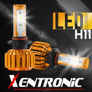 Pair 488W 48800LM COB LED H11 H9 H8 Headlight Kit Low Beam Car Bulbs 6000K White