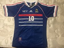 Zidane France 1998 World Cup Final Jersey Extra large Size