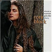 Rory Block - When a Woman Gets the Blues (1995),14 TRACK CD ALBUM,CANADA MADE