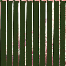 "Forest Green Vertical Blind Slats 89mm (3.5"") Free Weights, Chains & Hangers"