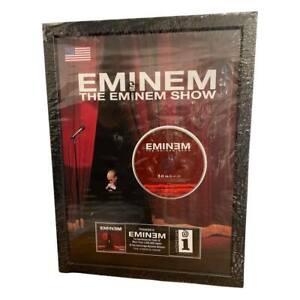 """Eminem """"The Eminem Show"""" Million Record Music Award Platin Goldene Schallplatte"""