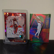 Hassan Whiteside 2 Lot - #10 Power In The Paint Holo + #196 Red Cracked Ice