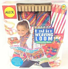 Alex Fashion Weaving Loom with FLUFFY Yarn Craft Kit Ages 7+ NEW in Box