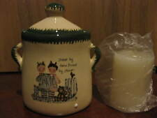 New Ceramic Candle Holder, Sisters By Fate Friends By Choice