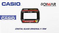 VINTAGE GLASS CASIO F-78W NOS