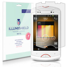 iLLumiShield Anti-Glare Screen Protector 3x for Sony Ericsson Live with Walkman
