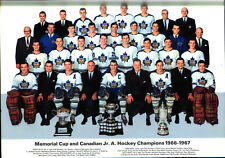 1 - 16 1/2 x 11 Export A calendar picture of the 1966-67 Memorial Cup Champs