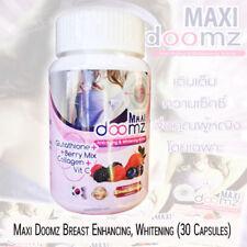 Maxi Doomz Glutathione anti aging whitening active & breasts bigger 30 Capsule