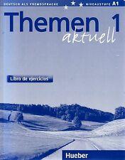 Hueber THEMEN 1 Aktuell Libro de ejercicios ARBEITSBUCH Spanische Ausgabe @NEW@