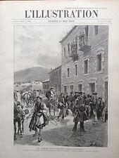L'ILLUSTRATION 1897 N 2831 LA GUERRE TURCO- GRECQUE, LA BATAILLE DE DOMOKHO