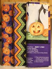 Halloween Ghost Story Pumpkins & Chevron SOLD SEPARATELY   PRICE REDUCED