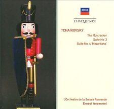 TCHAIKOVSKY The Nutcracker/Suites Nos. 3 & 4 2CD BRAND NEW Decca Eloquence