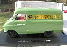 "BREKINA BING 1/43 OPEL BLITZ FOURGON Tolé A KASTEN ""SCHENKER"" !!!"