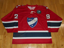 New LEINONEN H.I.F.K. #29 Finland Mens European Hockey League Stitched JERSEY XL