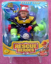 FISHER-PRICE RESCUE HEROES HYDRO TEAM BILLY BLAZES & WATER SQUIRTER - 2002