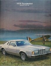 Ford Thunderbird 1979 USA Market Sales Brochure Town Landau Heritage