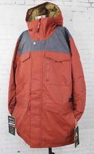 New 2018 Burton Mens Covert Snowboard Jacket XL Fired Brick Denim