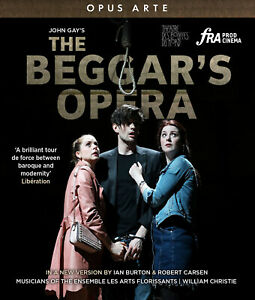 John Gay's The Beggars's Opera (Les Arts Florissants/Christie) New 2021 BluRay!