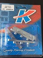 Go Kart - Axle Key 3 Peg 8mm W x 4mm H x 59mm L - 40mm Axle - Pkt 4 - NEW