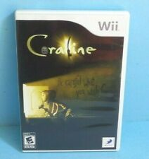 Coraline Nintendo Wii/Wii U Complete with Game/Case/Manual