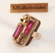 Forma bonito anillo espinela 333 él oro/au 155