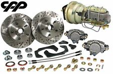 61-68 CADILLAC FRONT POWER DISC BRAKE CONVERSION DISC / DRUM UPGRADE KIT