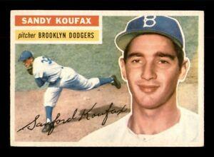1956 Topps Set Break #79 Sandy Koufax EX *OBGcards*