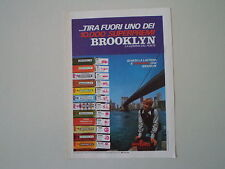advertising Pubblicità 1972 BROOKLYN CHEWING GUM GOMME PERFETTI