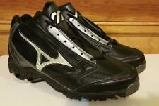New Mizuno 9 Spike Vintage G4 Mid Baseball Cleat Metal Spike Size 9 New