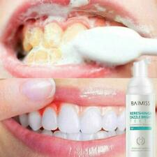 Fresh Shining Tooth-Cleaning Mousse Toothpaste TEETH WHITENING Hygiene NEW U8V1