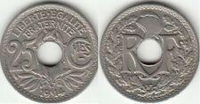 Pièces de monnaie françaises de 25 centimes pour 25 Centimes sur Marianne