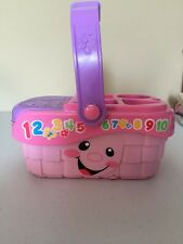 Fisher Price Picnic Basket Super Clean Toy!