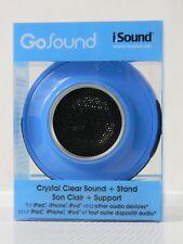 *NEW* i.SOUND the new sound blue color BLUE TOOTH MINI SPEAKER hanging speaker