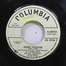 Pop Promo 45 Michael Legrand - Friendly Persuasion / Lovers And Lollipops On Col