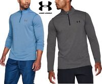Under Armour Mens Threadborne Fitted Half Zip Top - UA New Long Sleeve 1290270