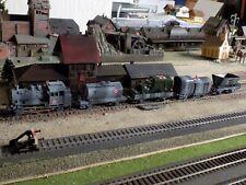 MARKLIN - Märklin, WWII MILITARY STEAM ENGINE 89006 WITH FOUR WAGONS, SCALE HO