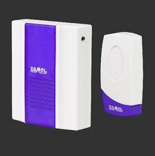 Zamel Twist ST-918 Wireless Doorbell Battery Powered White/Blue
