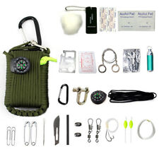 Emergency Camping Equipment Kit 29 in 1 Outdoor Survival Hiking Gear Tools
