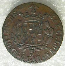 ESPAGNE SPAIN ESPANA : 3 QUARTOS 1823 BARCELONE BARCELONA