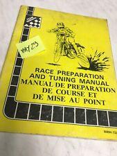 Yamaha YZ IT 80 125 250 1982 manuel revue technique préparation réglage atelier