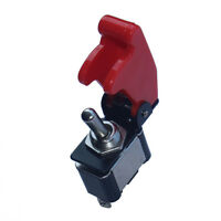 12V 20A Red Cover Rocker Toggle Switch SPST ON/OFF Car Truck Boat 2Pin Sales