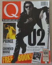 Q Magazine, July 1992, U2, Prince, Crowded House, Carter USM, Nitzer Ebb