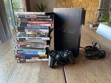 Sony PlayStation 2 PS2 Fat SCPH-50001 Video Game Console + Controller + 19 Games