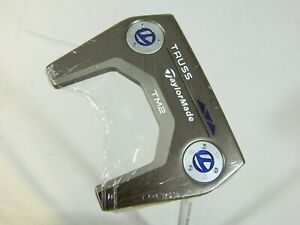 "New 2020 Taylormade Truss TM2 Mallet CENTER Shaft Putter 34 inch 34"" long"